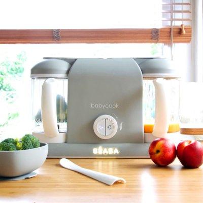 Robot de cuisine babycook plus grey Beaba