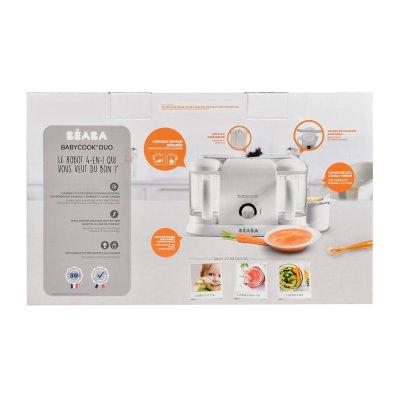 Robot de cuisine babycook duo white/silver Beaba