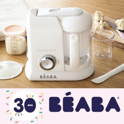 Robot babycook solo édition limité 30 ans avec cuillères et portions Beaba