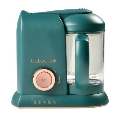Robot de cuisine babycook solo pine green Beaba