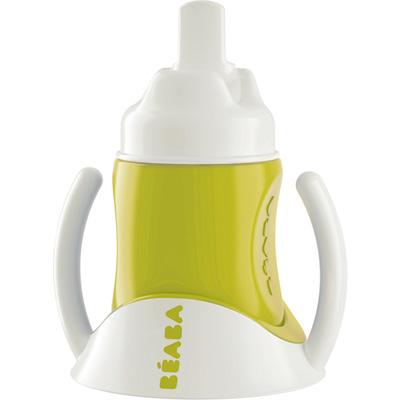 Tasse avec bec verseur ellipse gipsy vert Beaba