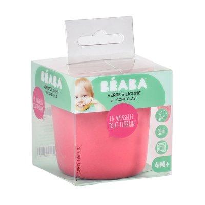 Verre silicone pink Beaba