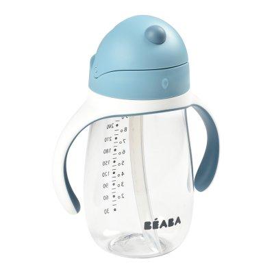 Tasse paille 300 ml - windy blue Beaba