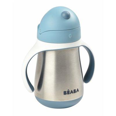 Tasse paille inox 250 ml Beaba