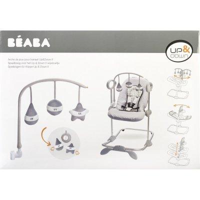 Arche de jeux pour transat grey / white Beaba