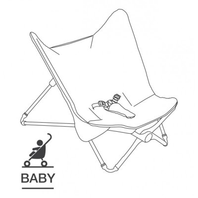 Transat bébé compact évolutif grey melange Beaba