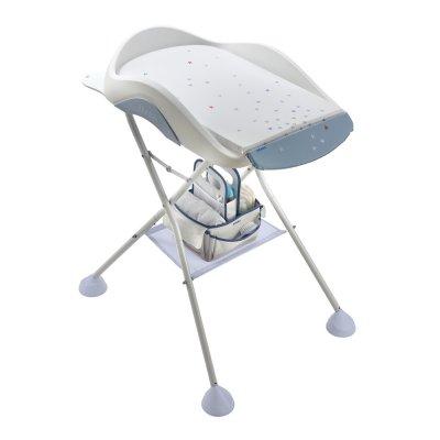 Support pied de baignoire camélé'o grey / blue Beaba