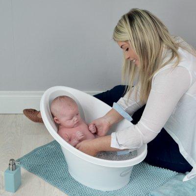 Baignoire bébé beaba by shnuggle blanc/gris Beaba by shnuggle