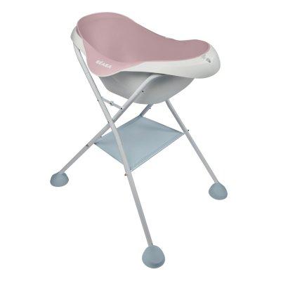 Baignoire bébé camélé'o old pink Beaba