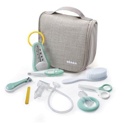 Trousse de toilette nomade 9 accessoires grey Beaba