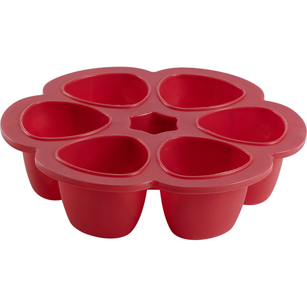 Multiportions silicone red 90 ml Beaba