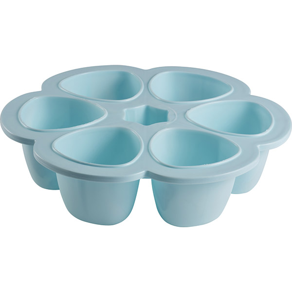 Multiportions silicone blue150 ml Beaba