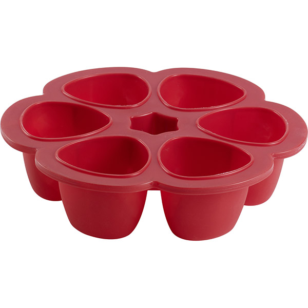 Multiportions silicone red 150 ml Beaba