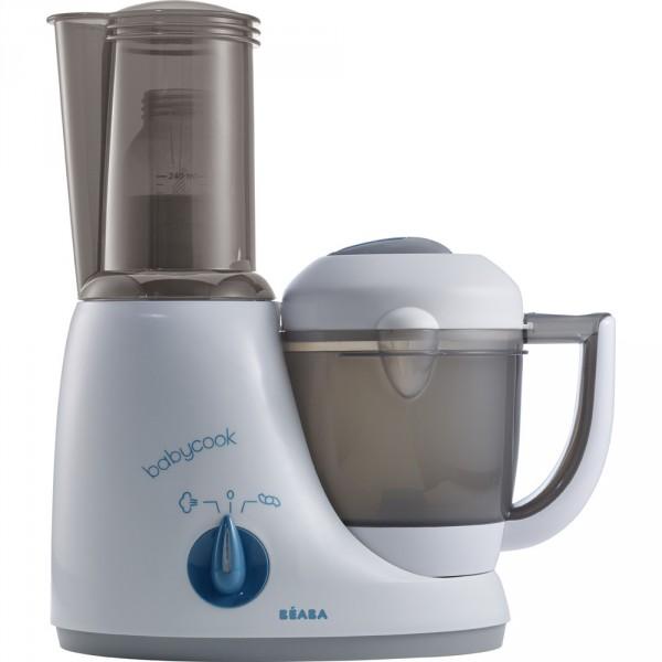 soldes robot de cuisine babycook original plus grey blue. Black Bedroom Furniture Sets. Home Design Ideas