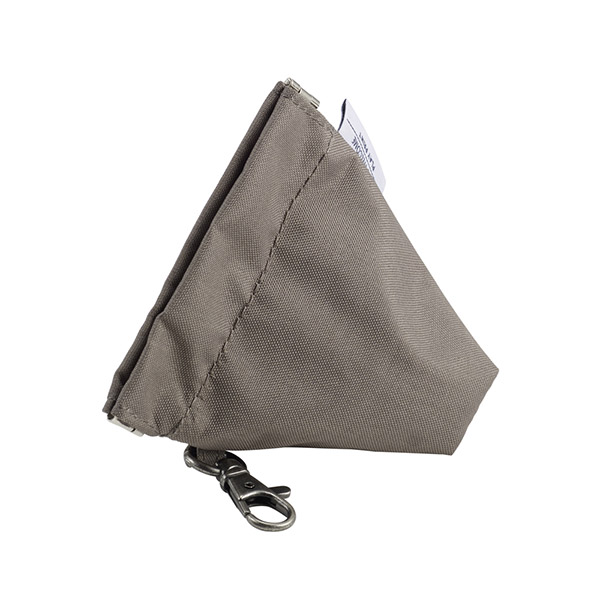Trousse range-sucette smart colors taupe / black Beaba