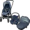 Pack poussette trio stella citi compacte nomad blue Bebe confort