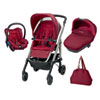 Pack poussette trio loola excel robin red 2016 Bebe confort