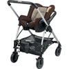 Pack poussette trio streety next earth brown 2016 Bebe confort