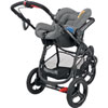 Pack poussette trio high trek citi compacte concrete grey Bebe confort
