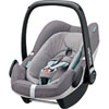 Pack poussette trio high trek pebble plus compacte concrete grey Bebe confort