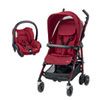 Pack poussette duo dana robin red Bebe confort