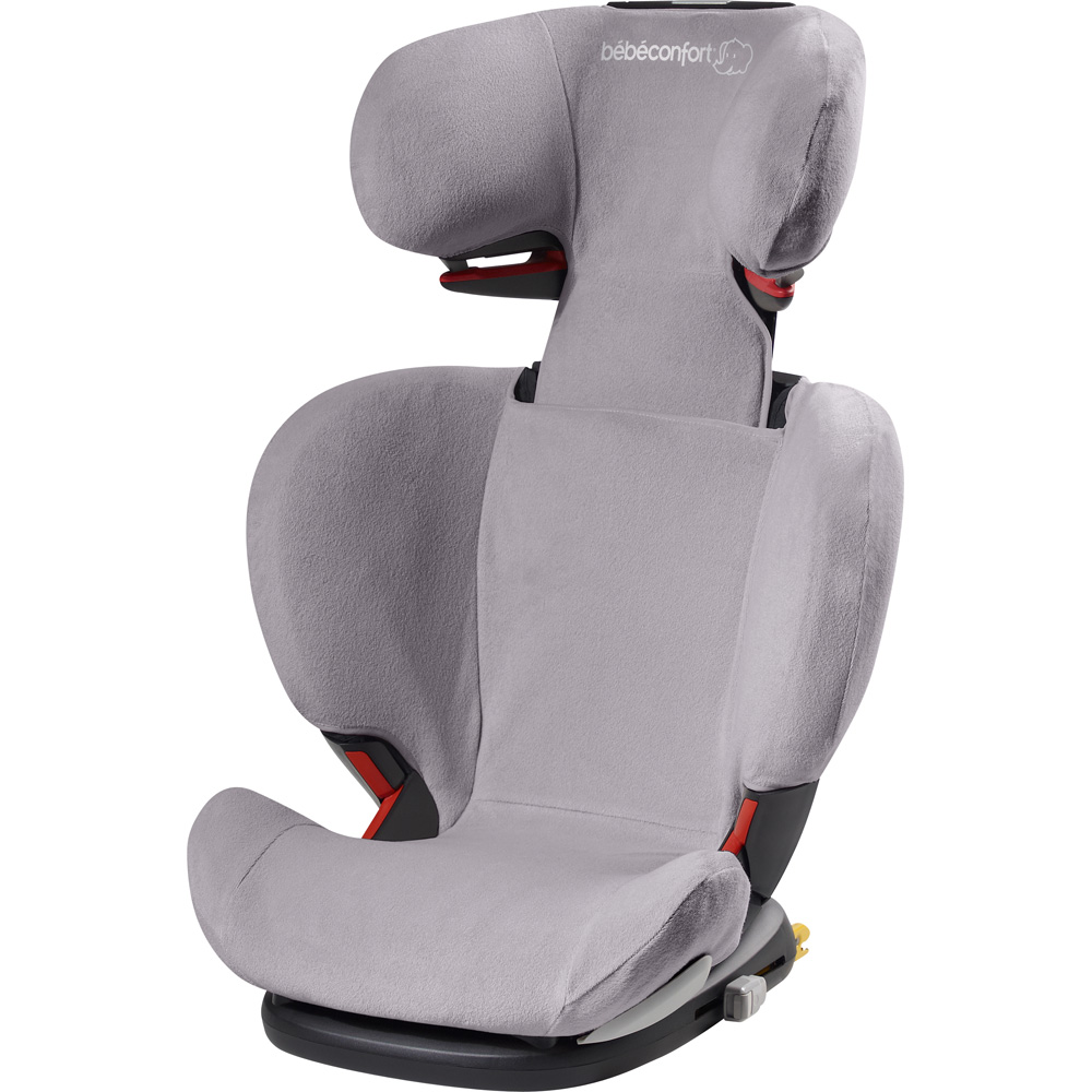Housse eponge pour si ge auto rodifix cool grey de bebe for Housse siege auto bebe