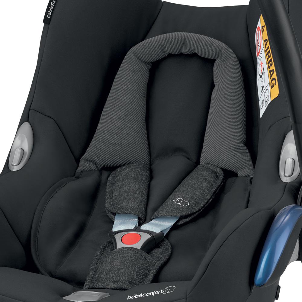 Si ge auto coque cabriofix nomad black groupe 0 de bebe for Vente de siege auto