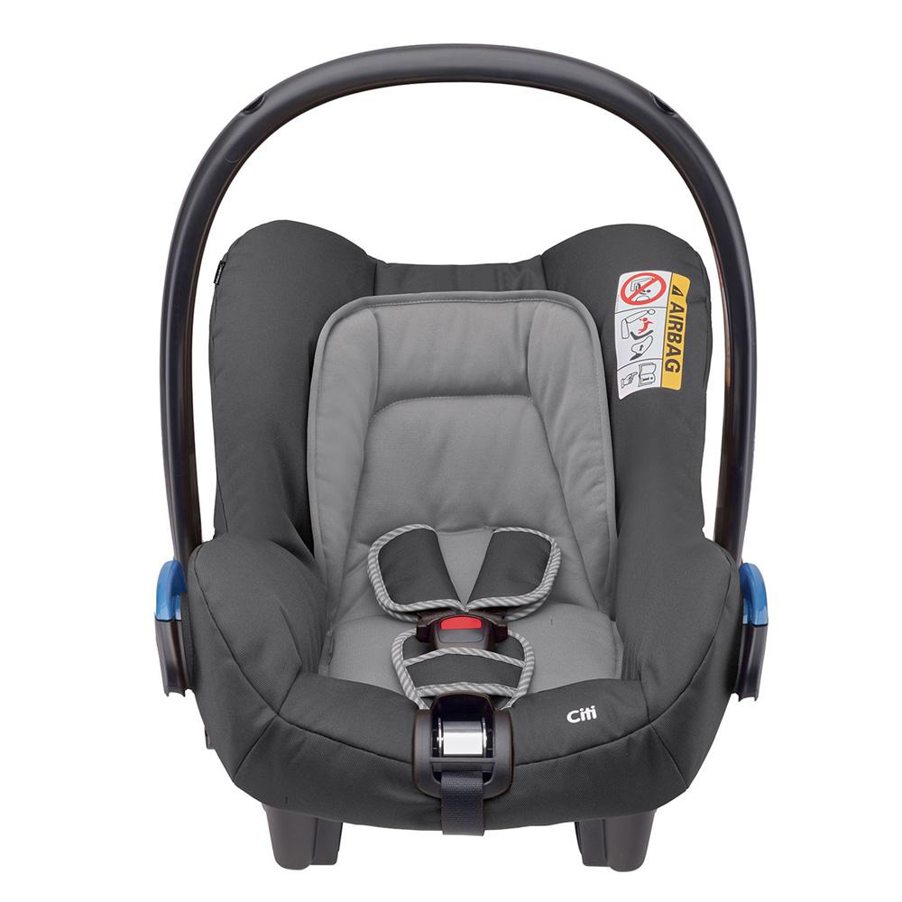 Si ge auto citi concrete grey groupe 0 de bebe confort for Siege auto bebe 0 mois