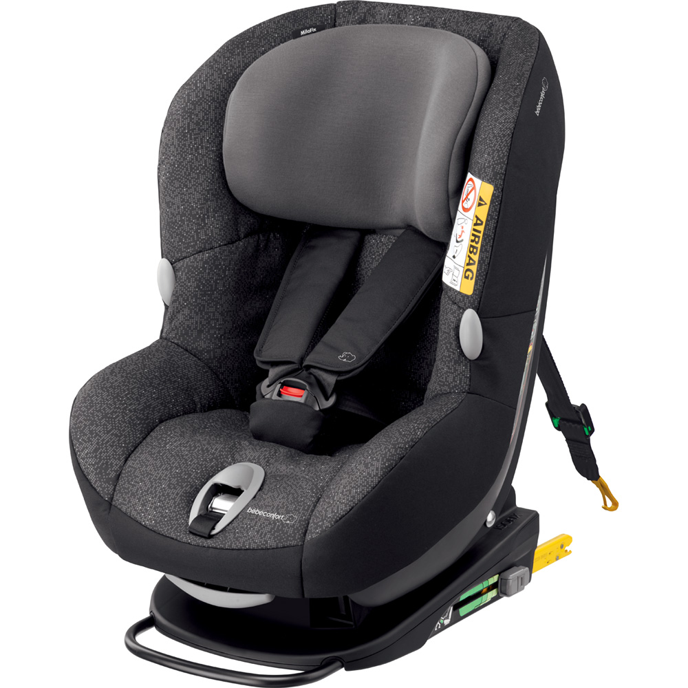 Si ge auto milofix triangle black groupe 0 1 de bebe for Siege auto 1 an