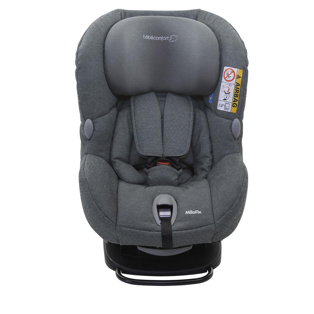 si ge auto milofix sparkling grey groupe 0 1 de bebe confort chez naturab b. Black Bedroom Furniture Sets. Home Design Ideas