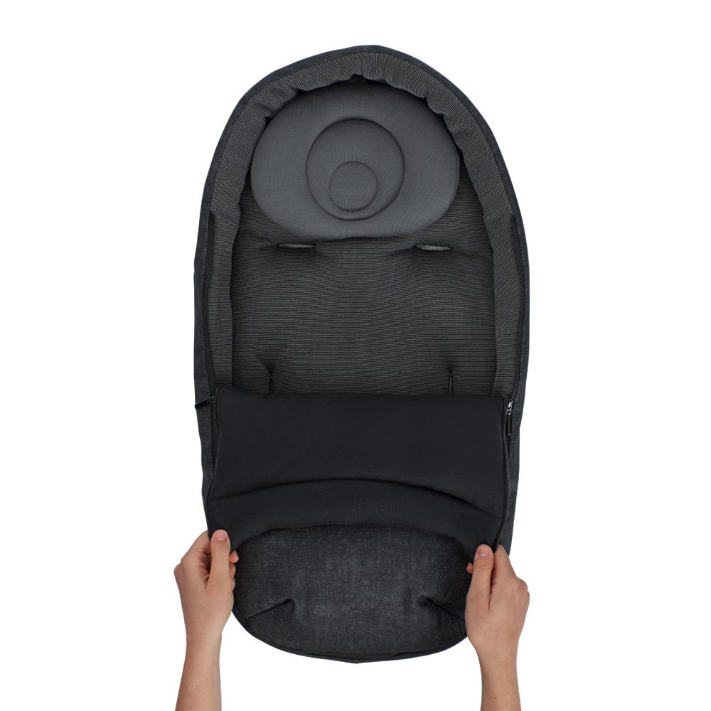 chanceli re baby cocoon nomad black de bebe confort sur allob b. Black Bedroom Furniture Sets. Home Design Ideas