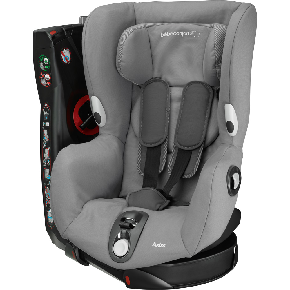 si ge auto groupe 1 axiss concrete grey de bebe confort