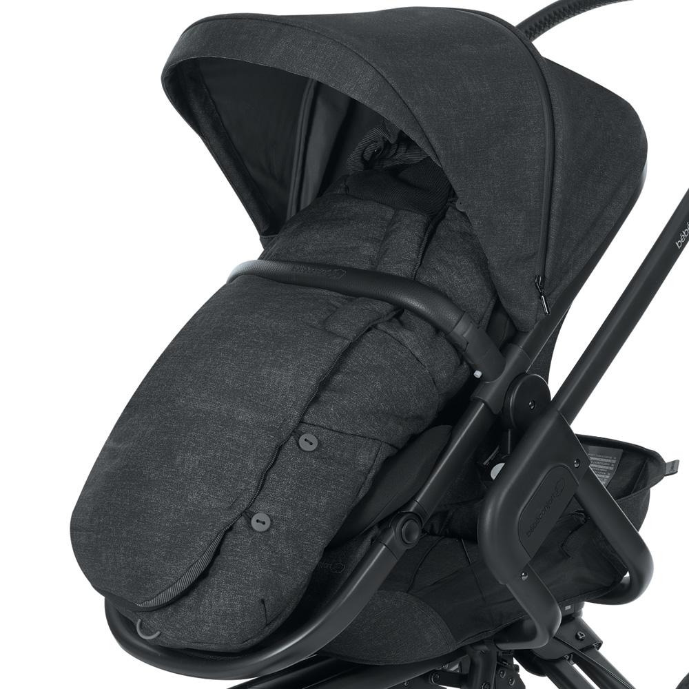 chanceli re poussette nomad black de bebe confort sur allob b. Black Bedroom Furniture Sets. Home Design Ideas