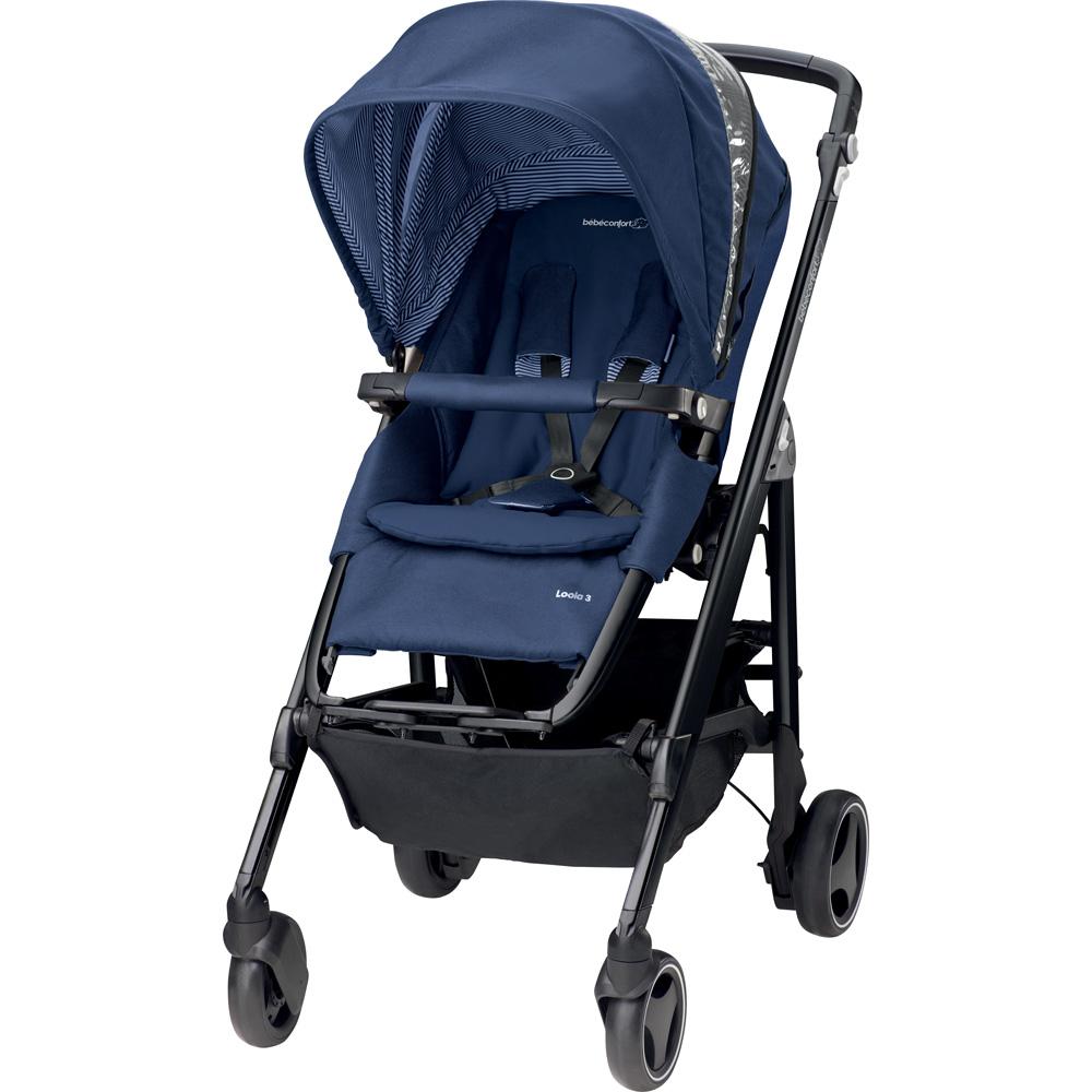 poussette 4 roues loola 3 river blue 2016 de bebe confort chez naturab b. Black Bedroom Furniture Sets. Home Design Ideas