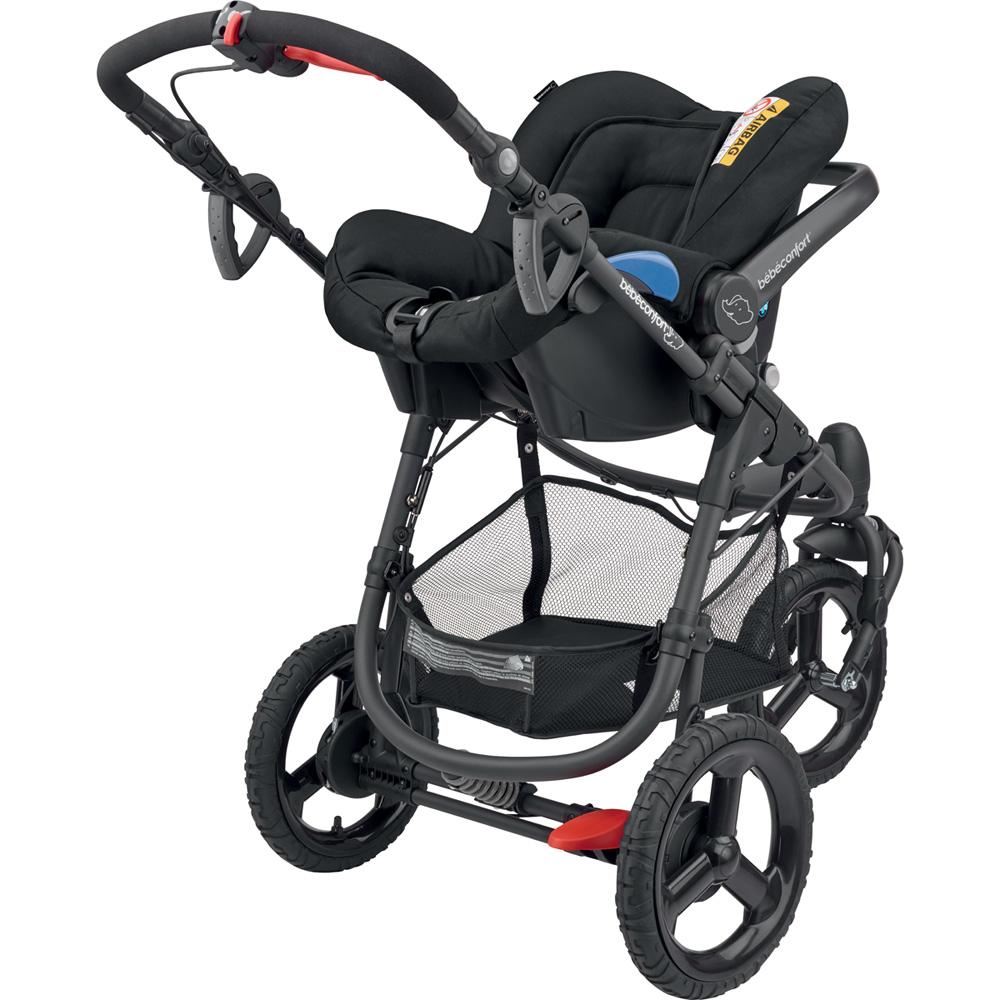 poussette combin trio high trek citi compacte black raven de bebe confort. Black Bedroom Furniture Sets. Home Design Ideas