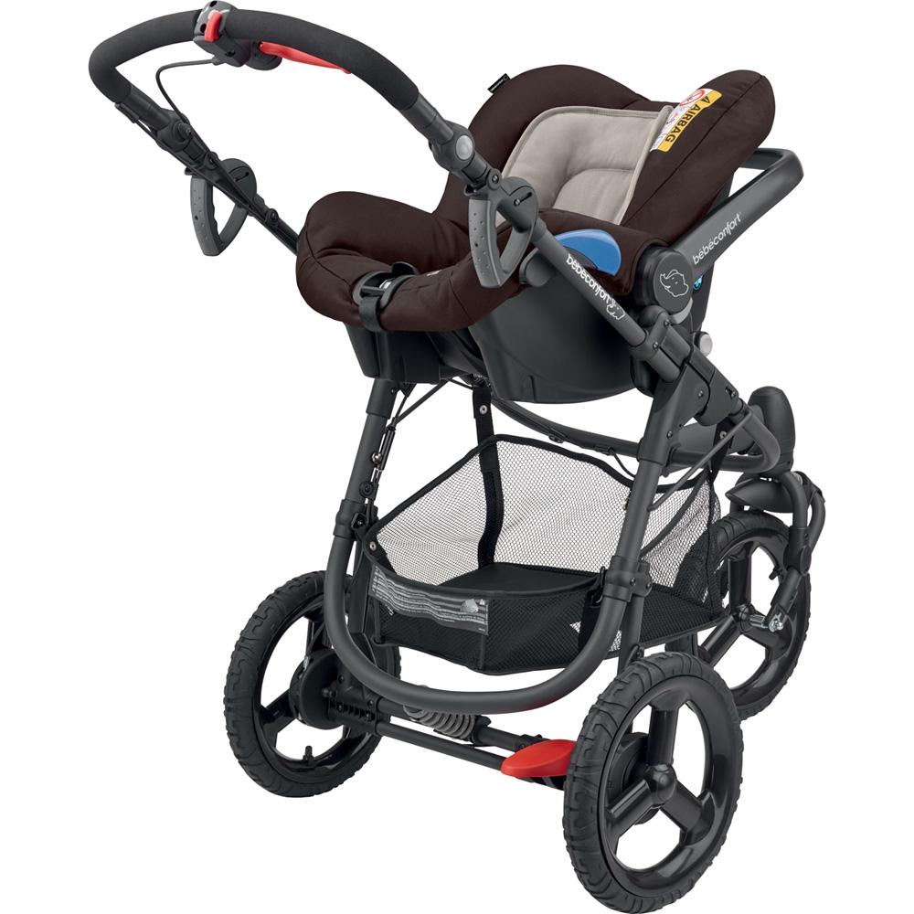 pack poussette duo high trek citi earth brown de bebe confort sur allob b. Black Bedroom Furniture Sets. Home Design Ideas