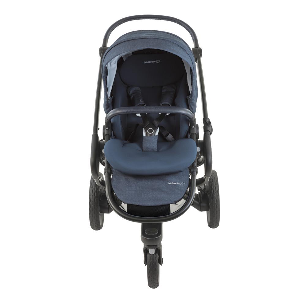 poussette nova 3 roues de bebe confort au meilleur prix. Black Bedroom Furniture Sets. Home Design Ideas