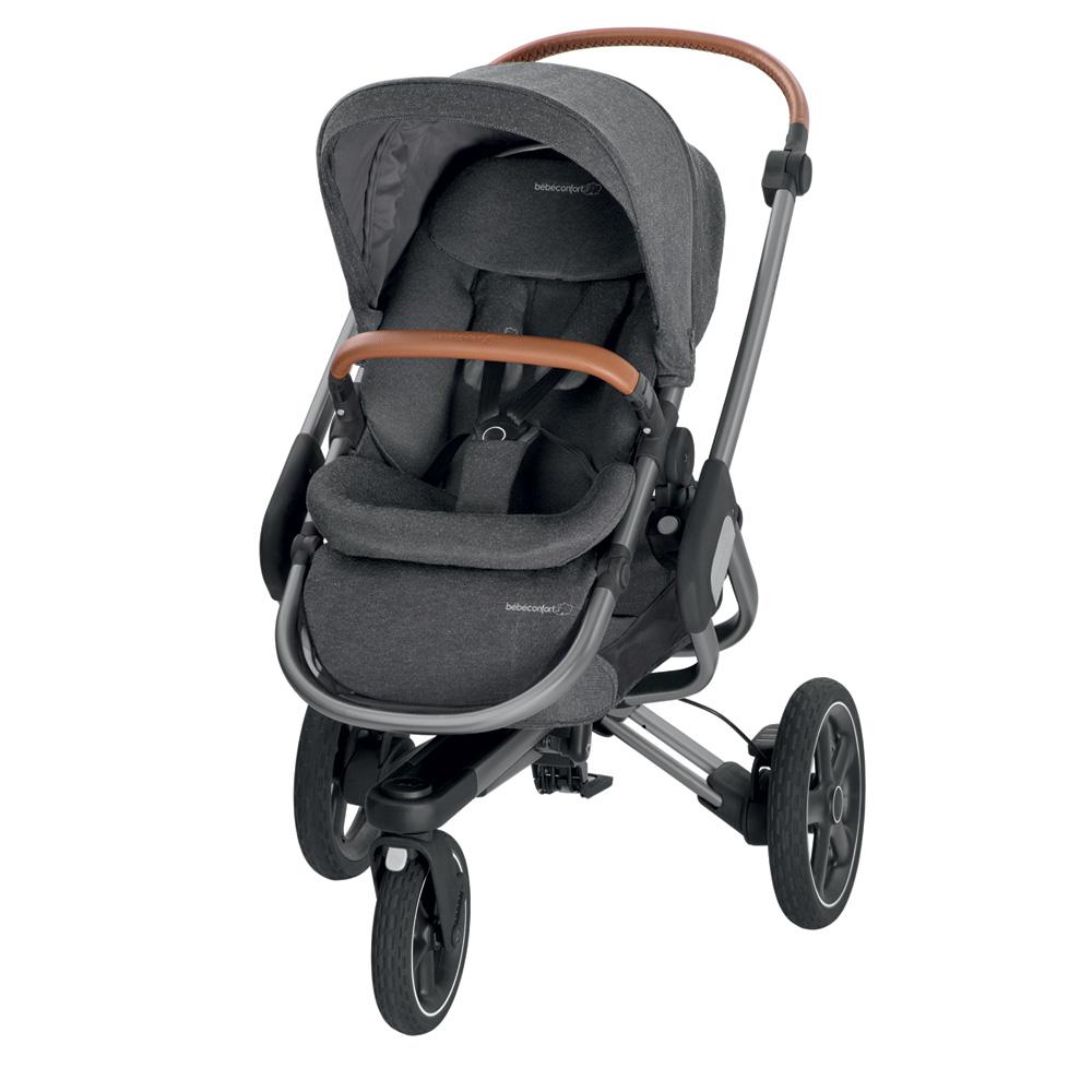poussette 3 roues nova sparkling grey de bebe confort sur allob b. Black Bedroom Furniture Sets. Home Design Ideas