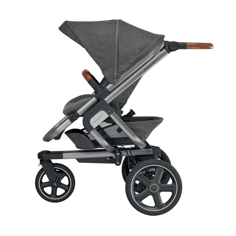 poussette 3 roues nova sparkling grey de bebe confort chez. Black Bedroom Furniture Sets. Home Design Ideas