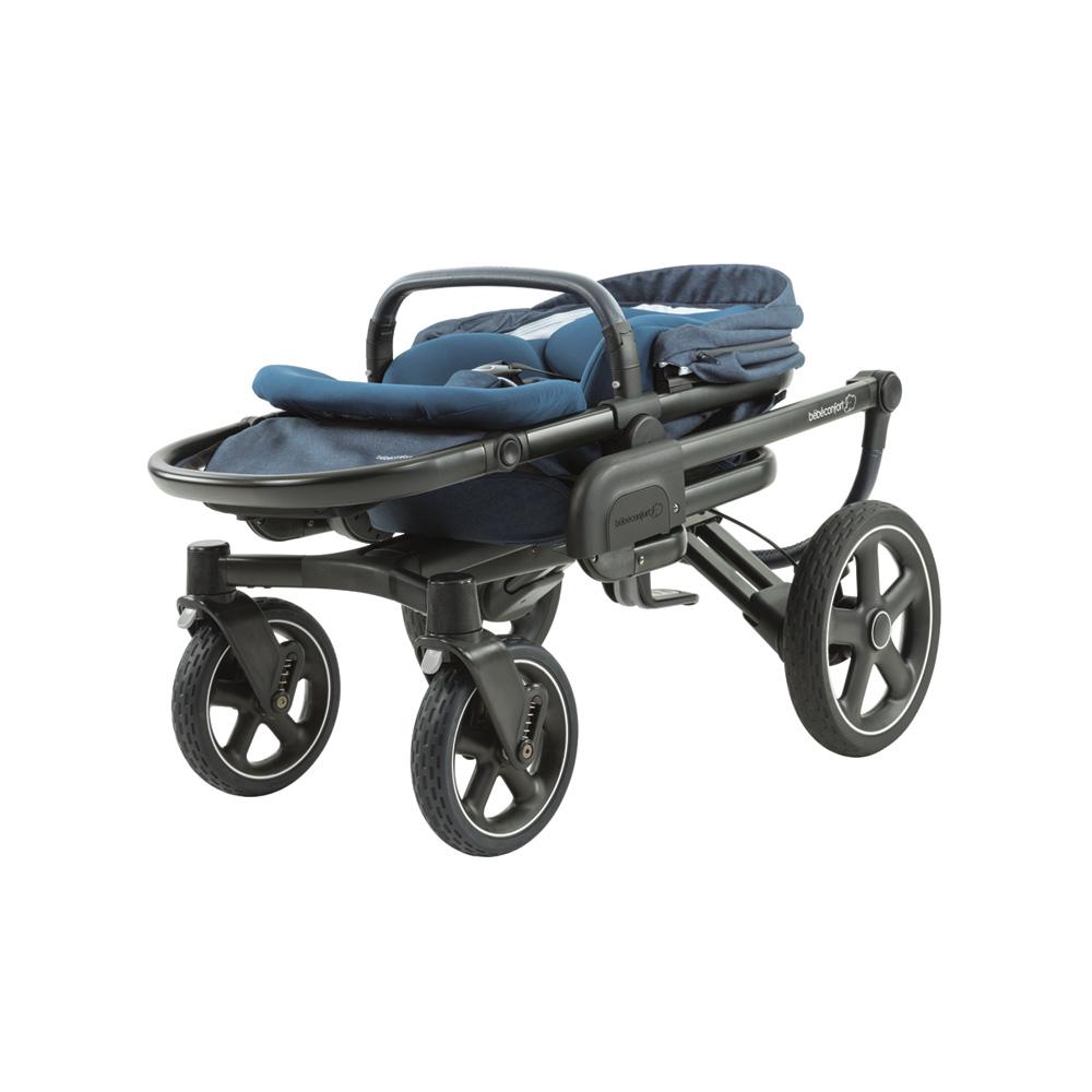 poussette 4 roues nova nomad blue de bebe confort sur allob b. Black Bedroom Furniture Sets. Home Design Ideas