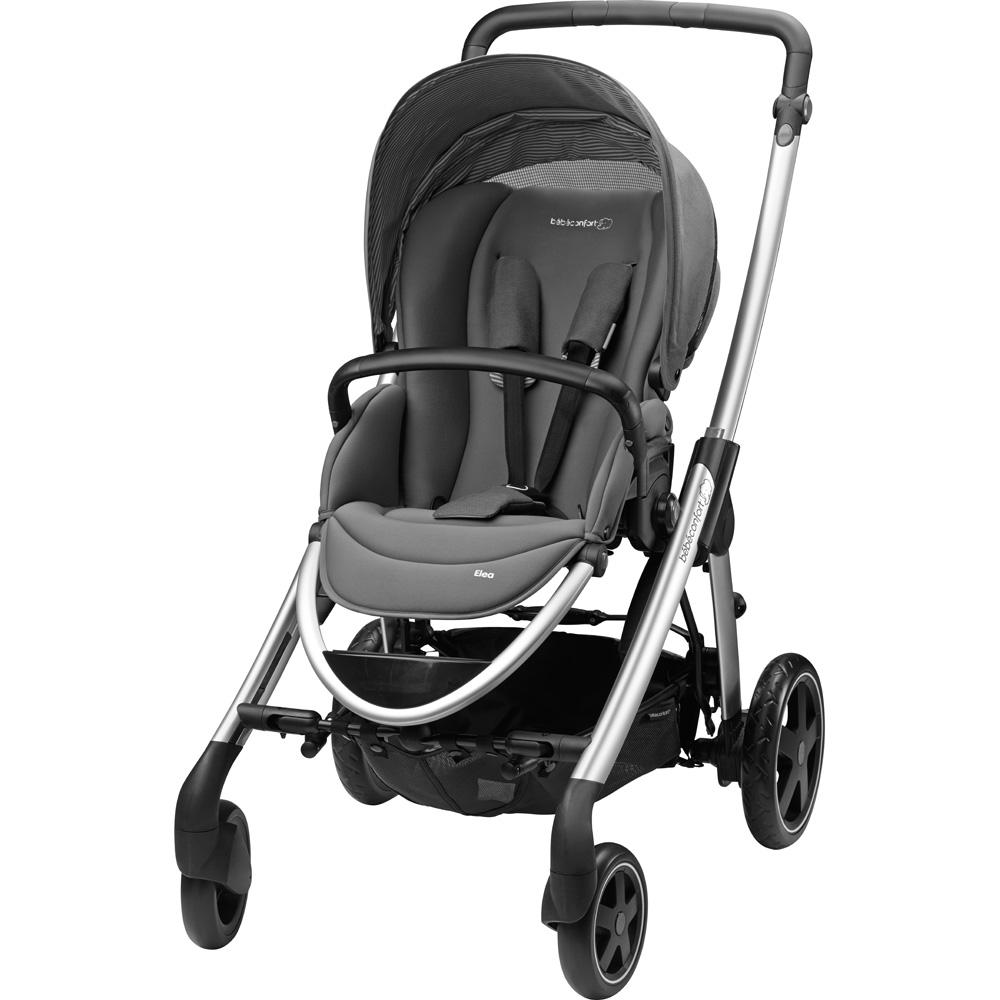 poussette 4 roues elea concrete grey 2015 de bebe confort. Black Bedroom Furniture Sets. Home Design Ideas