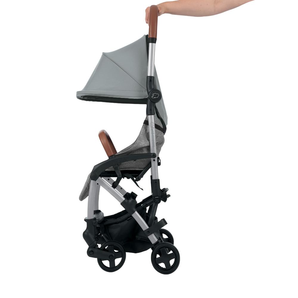 poussette 4 roues laika nomad grey de bebe confort chez. Black Bedroom Furniture Sets. Home Design Ideas