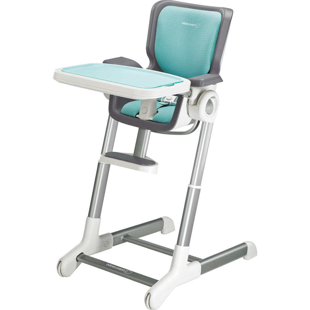 Assise chaise haute keyo aqua sky 25 sur allob b for Assise chaise keyo