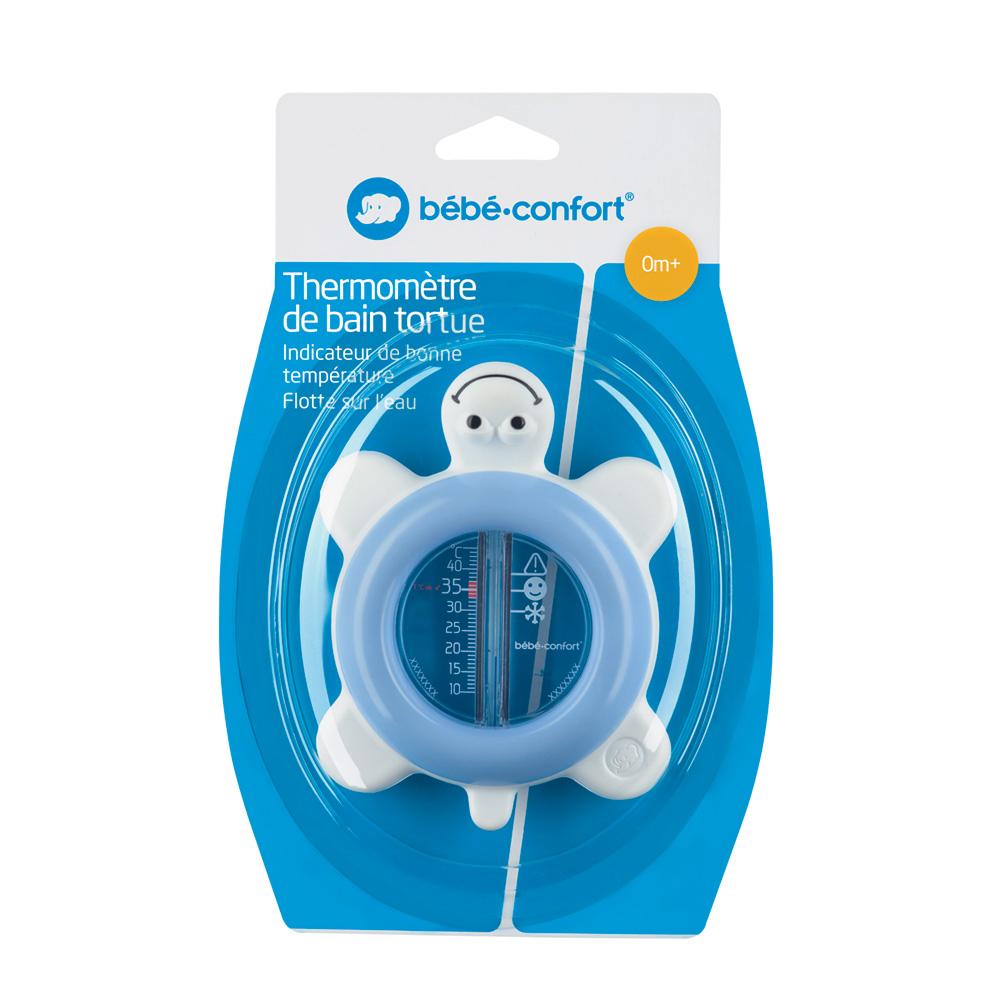 B/éb/é Confort Thermometre De Bain Tortue Ondes Positives Violet