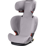 Housse eponge pour siège auto rodifix cool grey