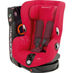 Siege auto axiss intense red - groupe 1 pas cher