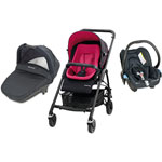Poussette pack trio streety + mix & match hot pink 2014 pas cher