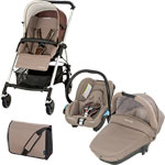 Poussette trio pack streety plus walnut brown pas cher