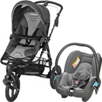 Poussette duo high trek streety concrete grey 2015 pas cher