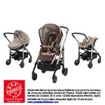 Poussette pack trio loola excel walnut brown 2014 pas cher